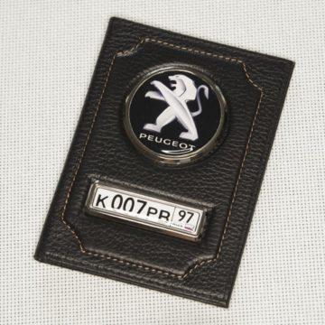 Обложка с гос номером и логотипом