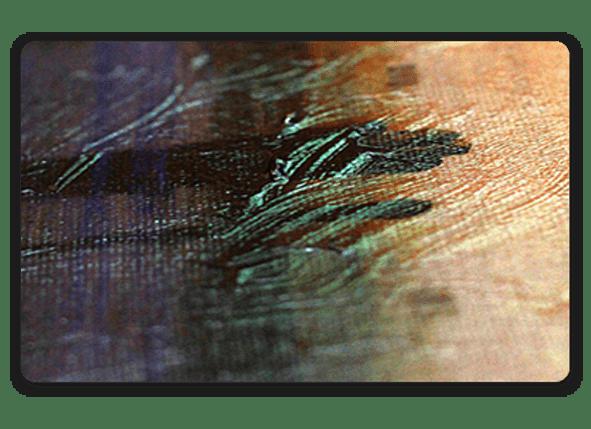Постер с текстурным гелем