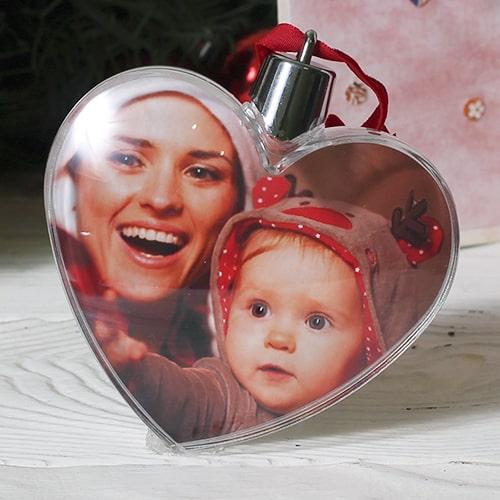 """Новогодняя игрушка """"Сердце"""""""