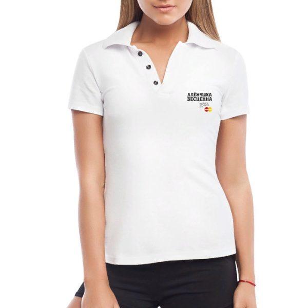 Пример футболки поло