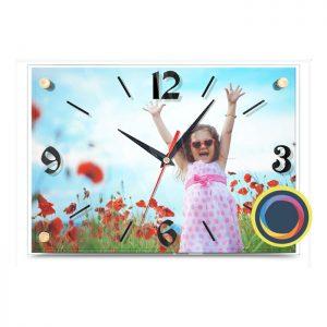 Часы с фото 24х35 см