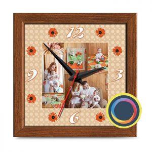 Часы керамические 24х24 см