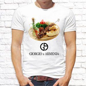 "Футболка ""Giorgio s Armenia"""