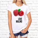 Футболка «Love malino»