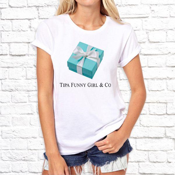 """Футболка """"Tipa Funny Girl & Co"""""""