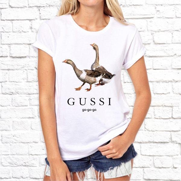 """Футболка """"Gussi GA-GA-GA"""""""