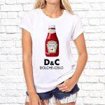 Футболка «D & C Dolche & Cislo»